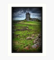 Dunguaire Castle, Kinvarra, County Galway, Ireland Art Print