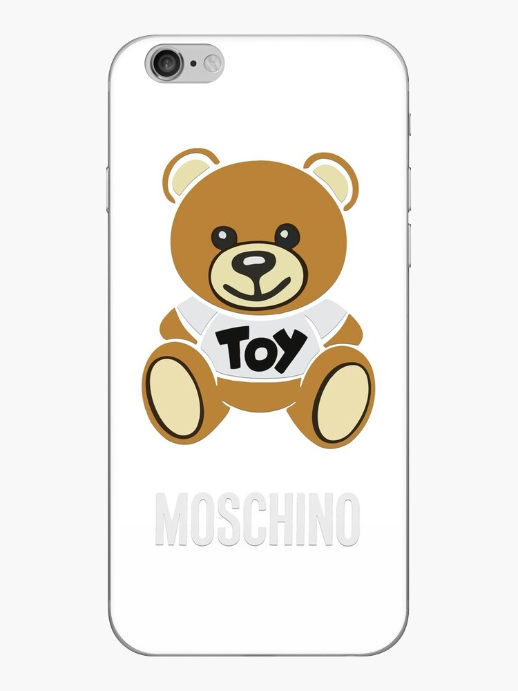 new style 5e918 7ef88 'Moschino Toy Bear' iPhone Case by ScottRhee