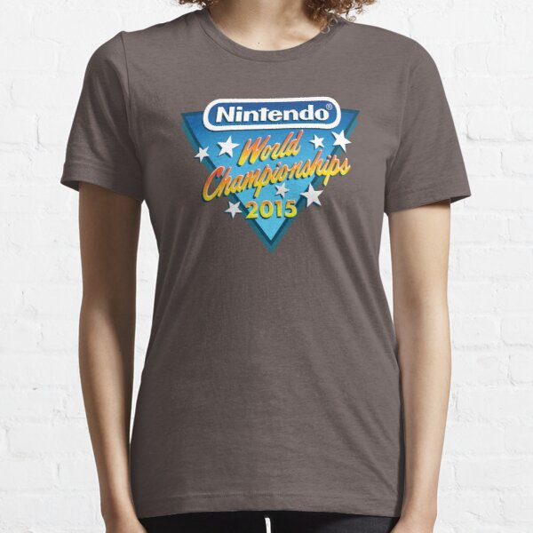 Nintendo World Championships 2015 Logo Essential T-Shirt