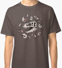 Geo-rex Vortex | Rose Quartz Classic T-Shirt