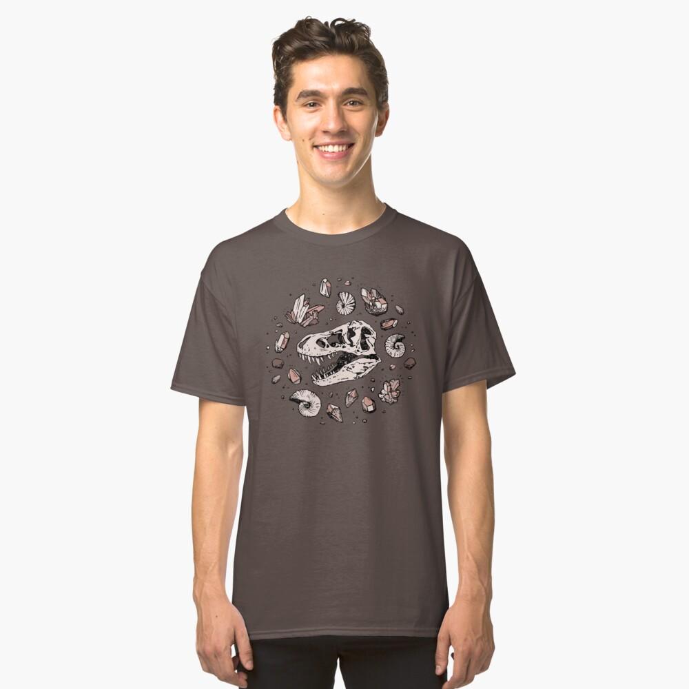 Geo-rex Vortex | Rose Quartz Classic T-Shirt
