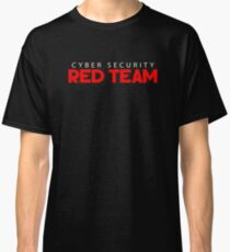 Cool Red Team Cyber Security Hacking Hacker T-Shirt Classic T-Shirt