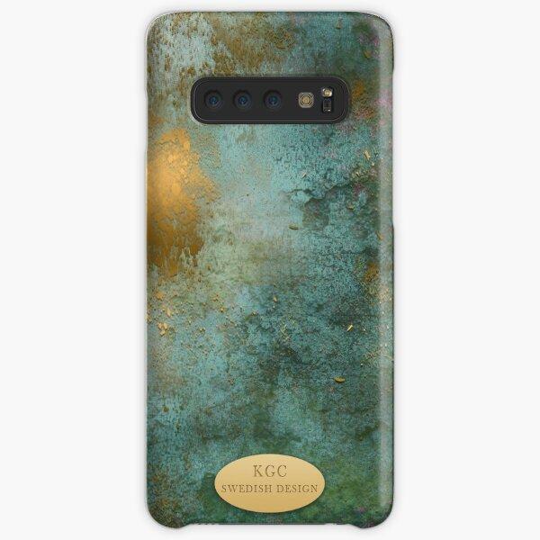 Mobile skin greenish gold Samsung Galaxy Snap Case