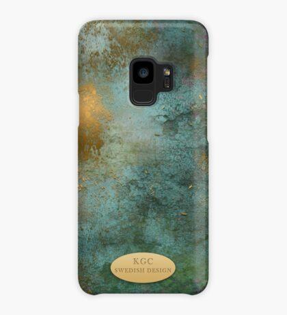 Mobile skin greenish gold Case/Skin for Samsung Galaxy