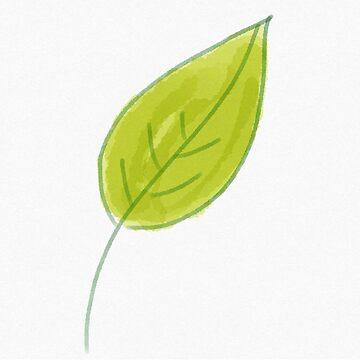 Coloured leaf by nytsrik