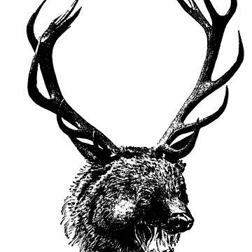 Bear Deer tshirt Bear Deer shirt by bledi