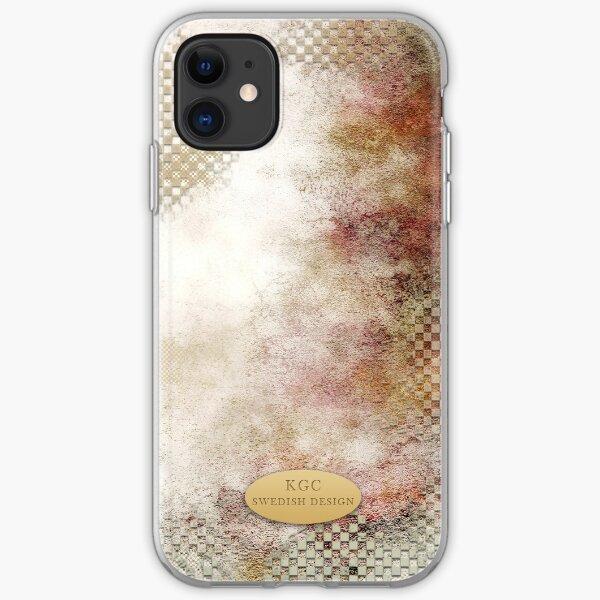 Mobile skins white square iPhone Soft Case