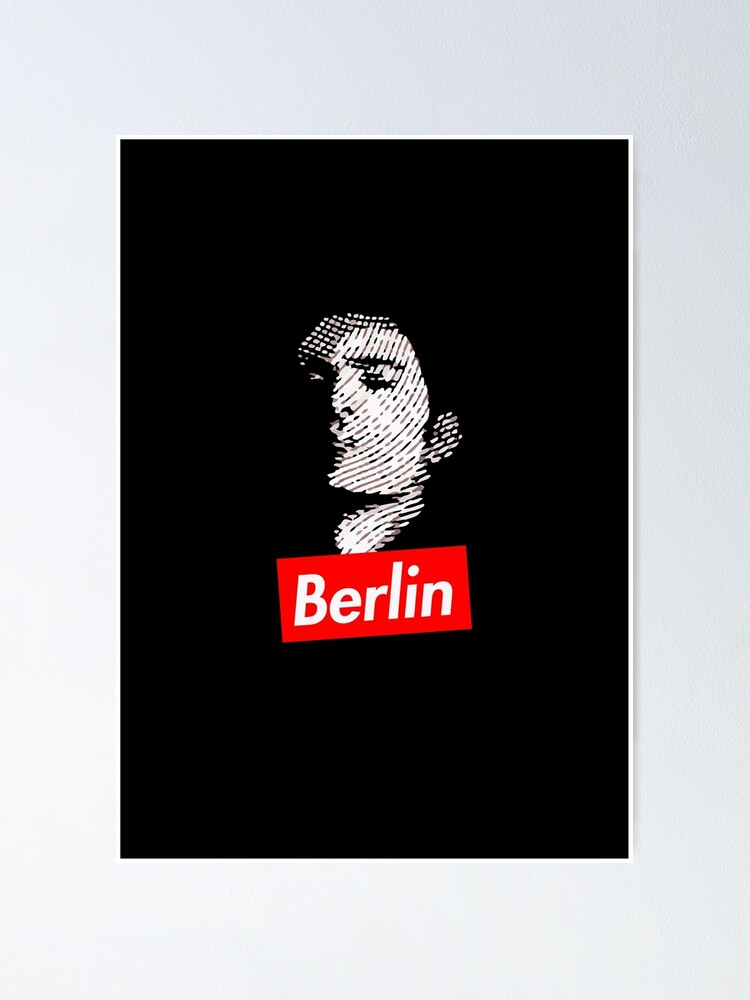 Alternate view of BERLIN | La Casa de Papel Poster