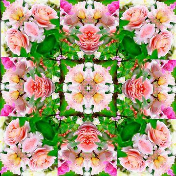 Rose Garden Kaleidoscope by BBrightman