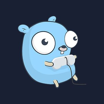 The Golang Gopher Mascot: Gaming by hellkni9ht