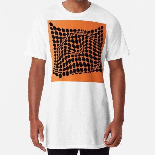 COME INSIDE (ORANGE) Camiseta larga