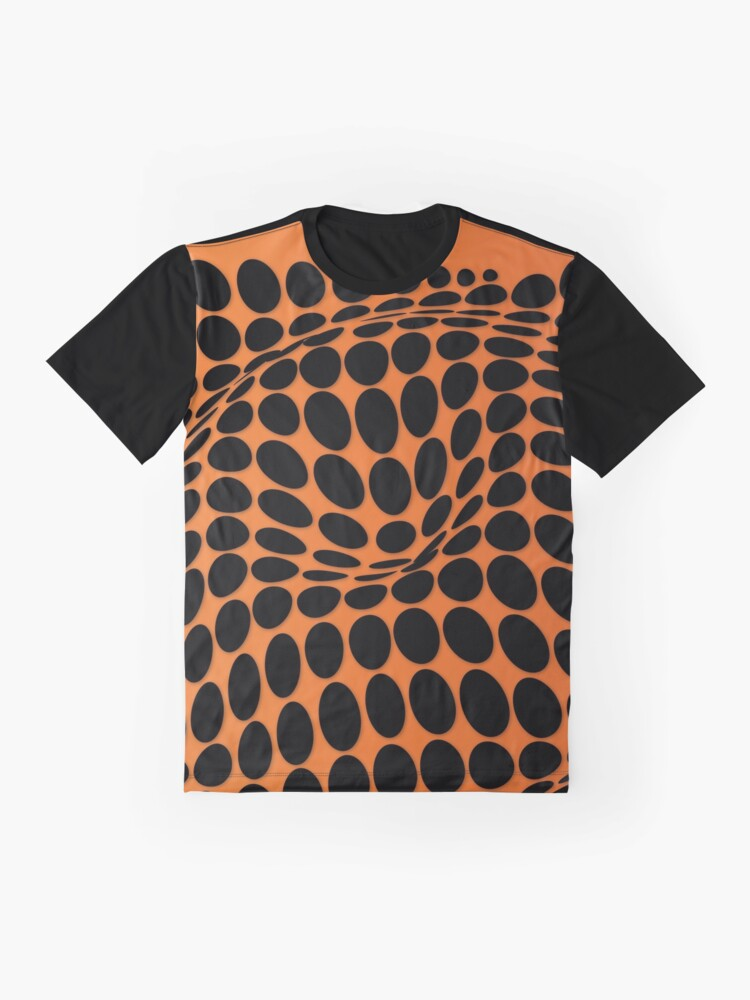 Vista alternativa de Camiseta gráfica COME INSIDE (ORANGE)