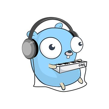 The Golang Mascot: Music by hellkni9ht