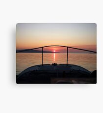Fisherman's Sunrise Canvas Print