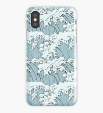 Japanese Waves Art iPhone Case