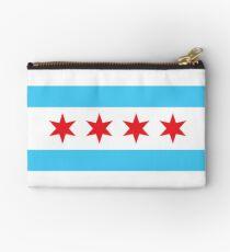 Chicago Flag Studio Pouch