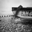 Boat on Beach - Pinhole Photography by willgudgeon