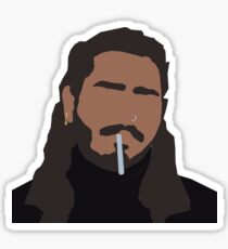Post Malone Low Poly  Sticker