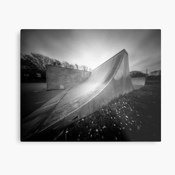 Skate Ramp - Pinhole photography Metal Print