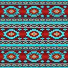 Southwestern ethnic navajo pattern by Stellagala