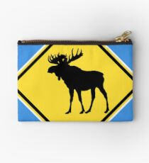 Moose Crossing! Studio Pouch