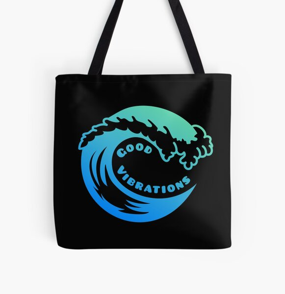 The Beach Boys - Good Vibrations All Over Print Tote Bag