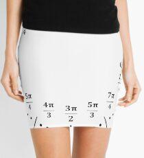 Unit Circle Clock Mini Skirt