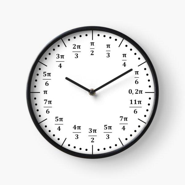 Unit Circle Clock Clock