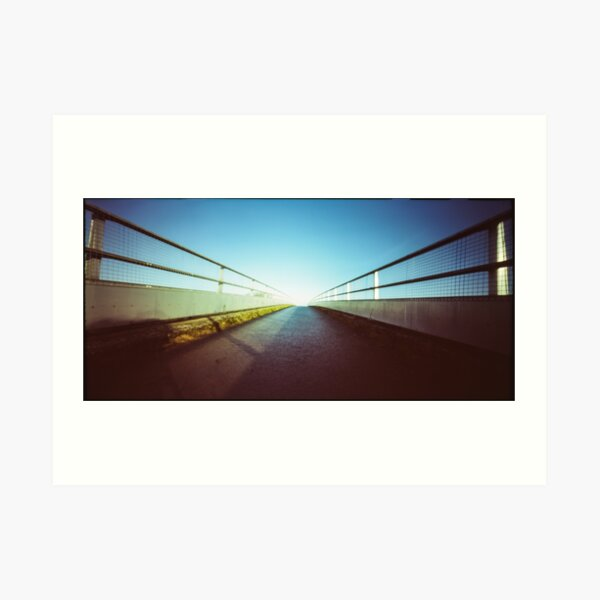 Bridge - Pinhole photography Art Print