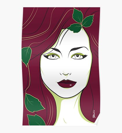 Poison Ivy - Nagel Style Poster