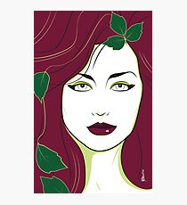Poison Ivy - Nagel Style Photographic Print