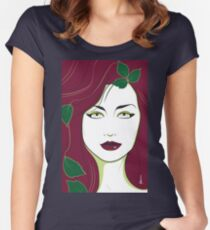 Poison Ivy - Nagel Style Women's Fitted Scoop T-Shirt