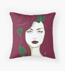 Poison Ivy - Nagel Style Throw Pillow