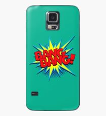 Komisches Wort des lustigen Superhelden Knall-Knall! Hülle & Klebefolie für Samsung Galaxy