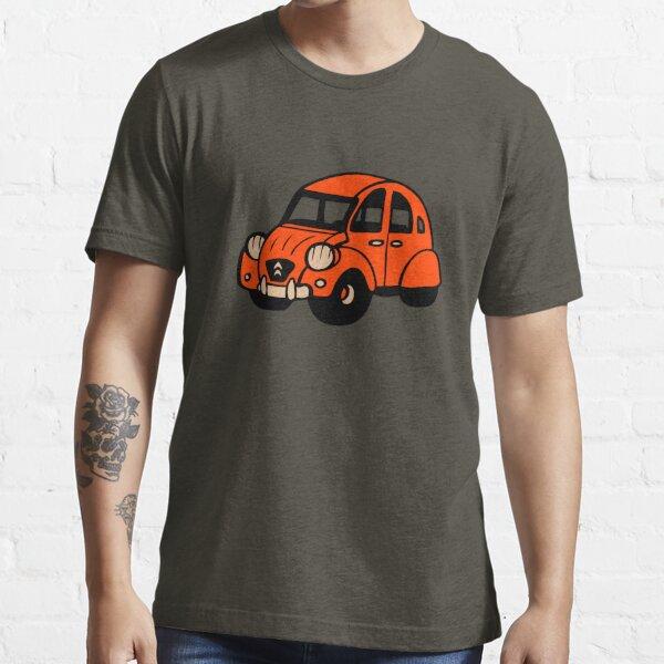 2cv vintage voiture française citroen T-shirt essentiel