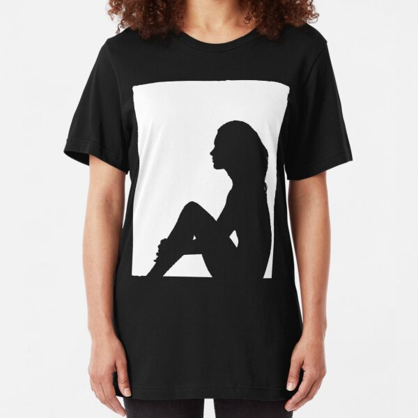 Sitting in the window Slim Fit T-Shirt