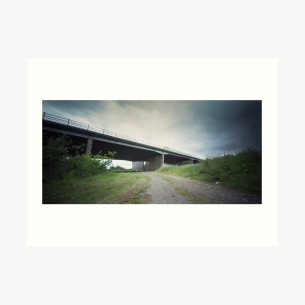 Bypass - Pinhole photography Art Print
