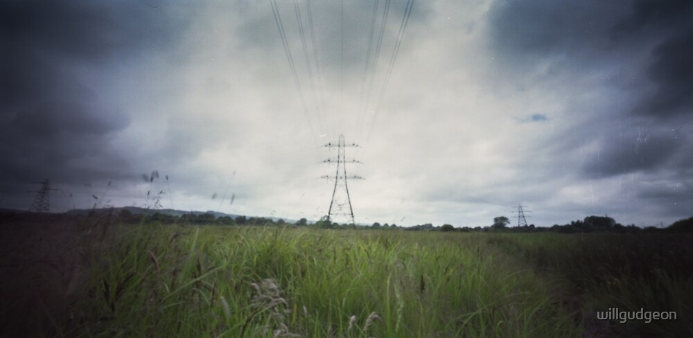 Electrical pylon - Pinhole photography by willgudgeon
