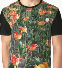Outstanding in a tulip field from A Gardener's Notebook Graphic T-Shirt