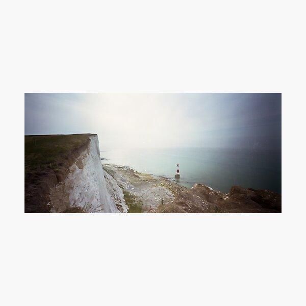 Beachy head Lighthouse - Pinhole photography  Photographic Print