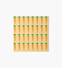 carrots pattern Art Board