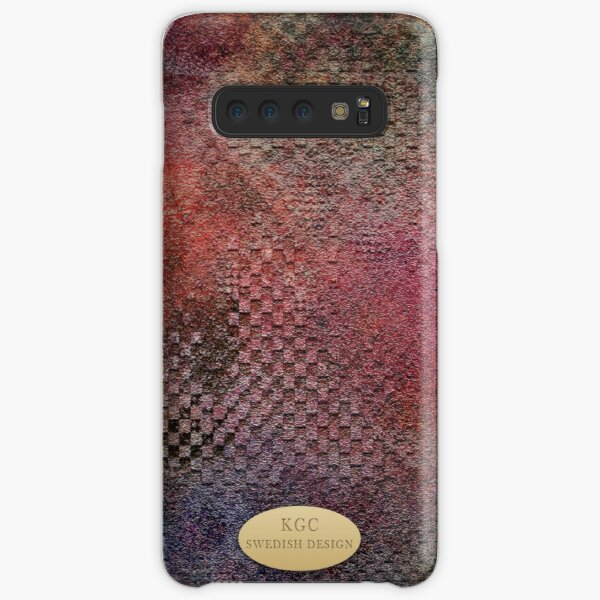 Mobile skins red Samsung Galaxy Snap Case