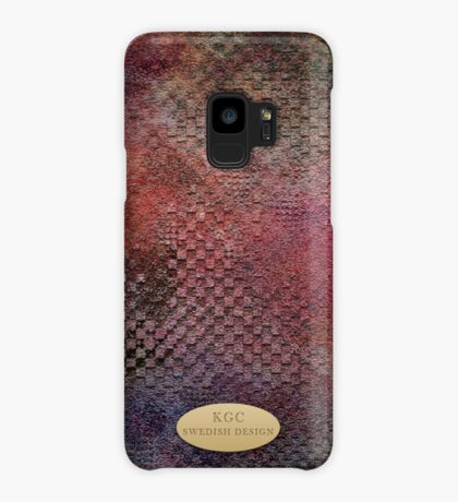 Mobile skins red Case/Skin for Samsung Galaxy