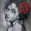 Woman and The Rose  by Shane Grammer