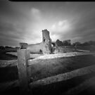 Pevensey castle - Pinhole photography by willgudgeon