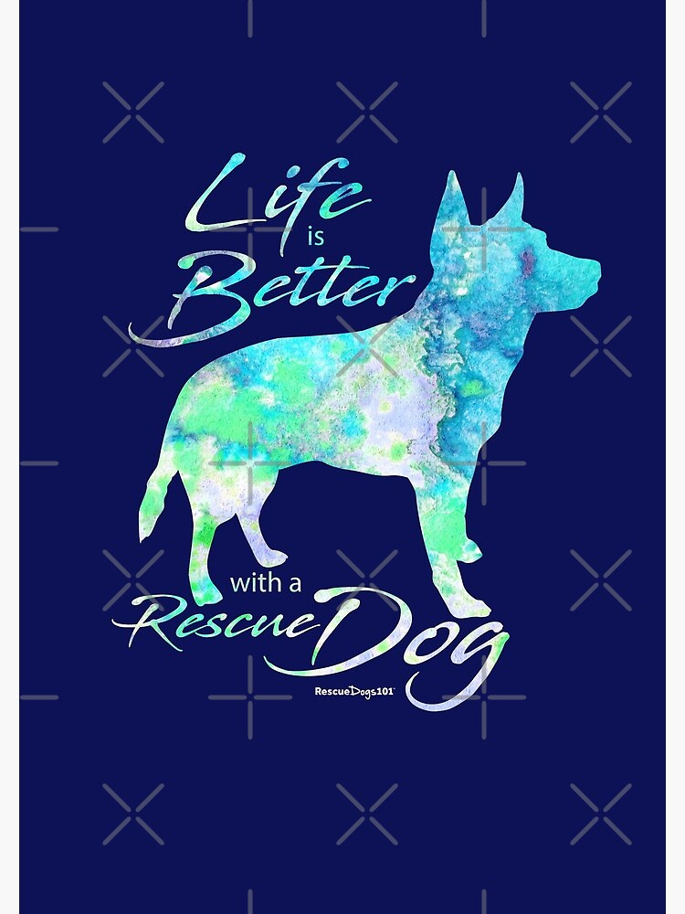 Life is Better with a Rescue Dog by rescuedogs101