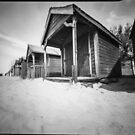 West wittering beach huts - Pinhole photography by willgudgeon