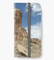 Rock Formation, Chaco Canyon, New Mexico iPhone Wallet/Case/Skin