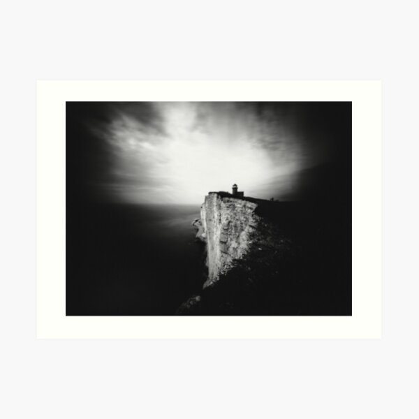 Belle Tout Lighthouse. Pinhole photo Art Print