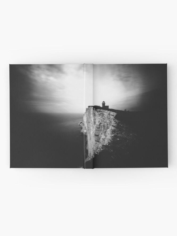 Alternate view of Belle Tout Lighthouse. Pinhole photo Hardcover Journal